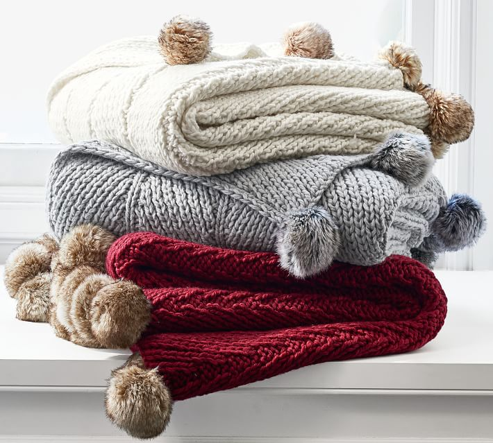 faux-fur-pom-pom-knitted-throw-o